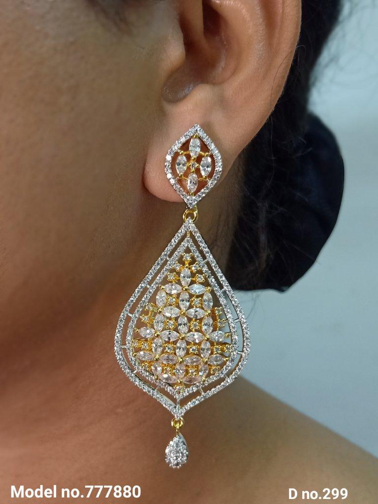 Bridal Earrings | Original Cz