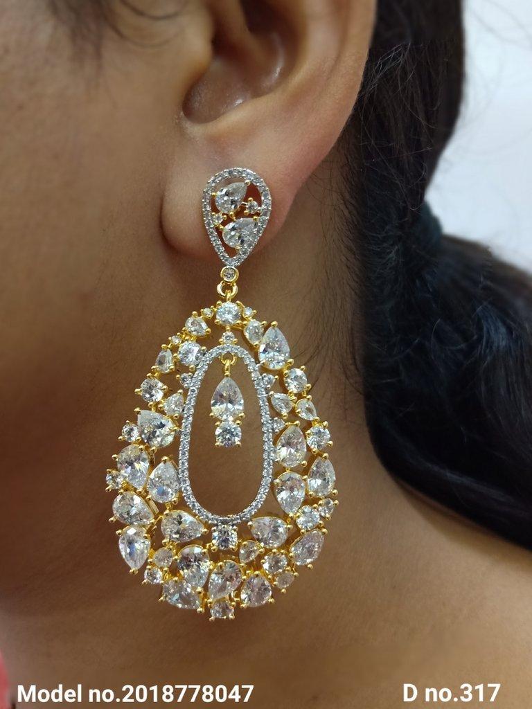 Partywear Earrings for Weddings