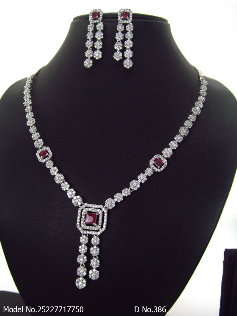 CZ Classic Necklace Collection