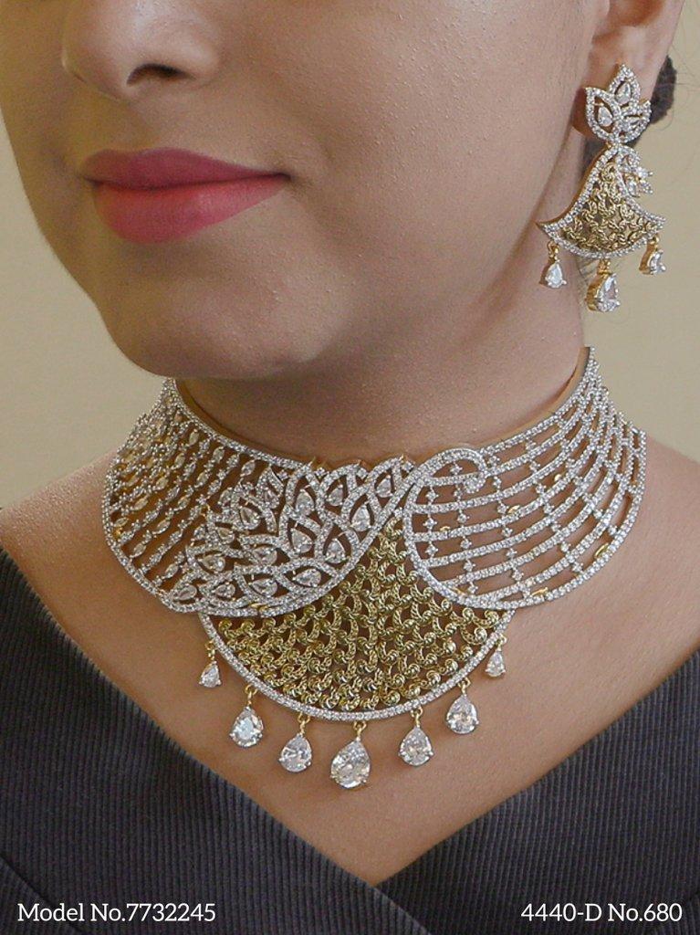 Original Cubic Zirconia  Jewelry Set