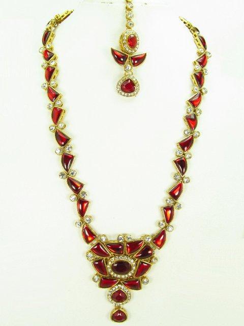 Kundan long Necklaces