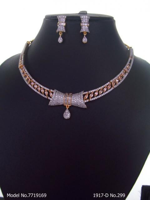 Made In India | Diamond Styled Jewellery Set