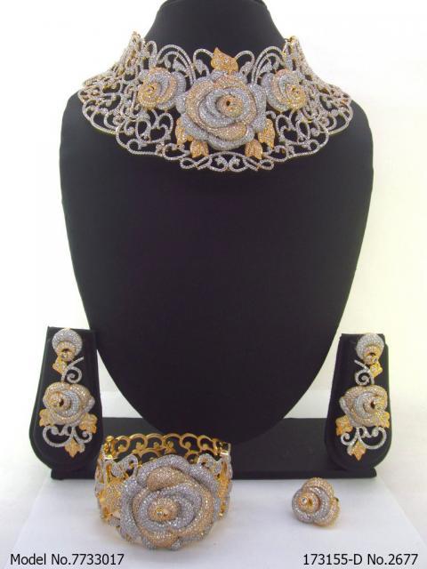 Diamond Replica Jewelry Set |