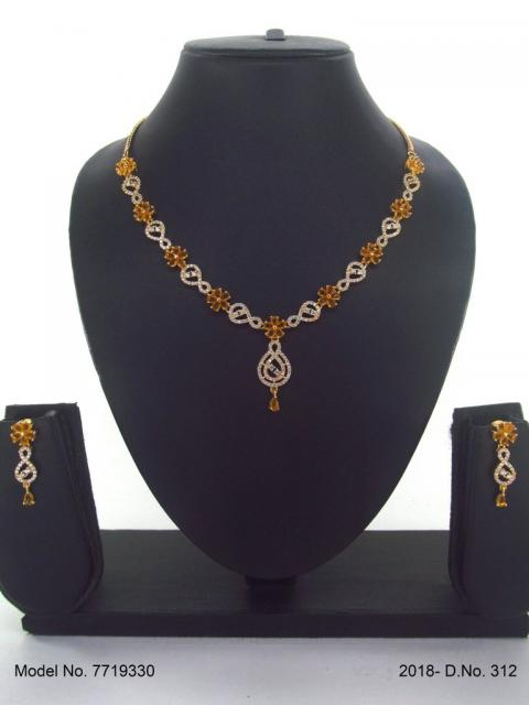 Classic Cz Necklace   Light Sets for All Occasions