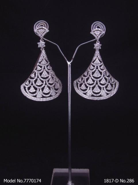 Cz Fashion Earrings | Handcrafted