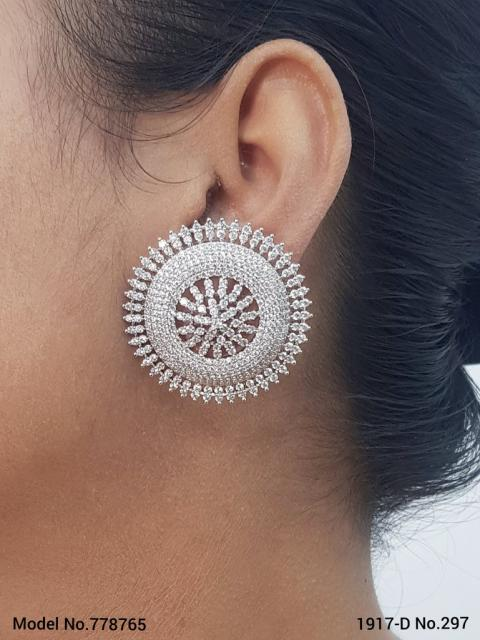 Wholesale Fashion Cz Earrings