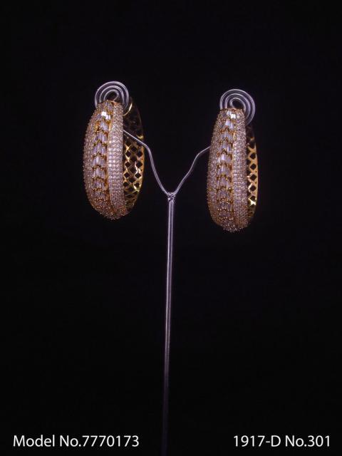 Real Zircon | Fashion AD Earrings