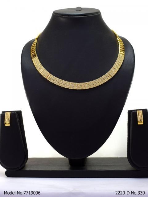 Original Cubic Zircon | Classic Necklace Set
