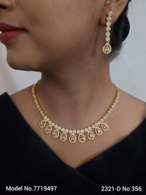 CZ Collar Necklace