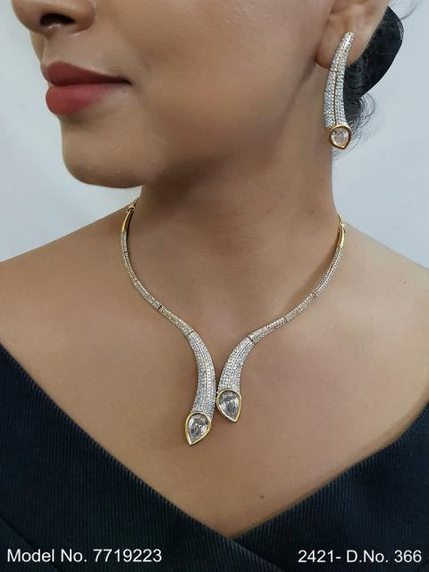 Classic Cz Necklace | Light Sets for All Occasions
