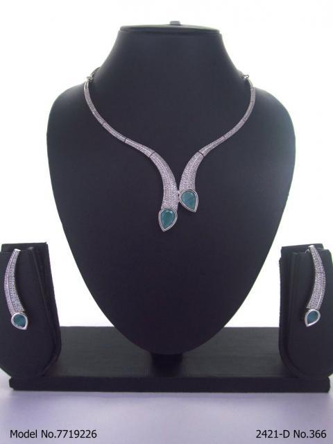 Cz Jewelry Set | Classic Pattern