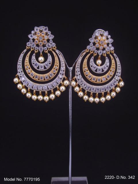 International Design | Cz Earrings