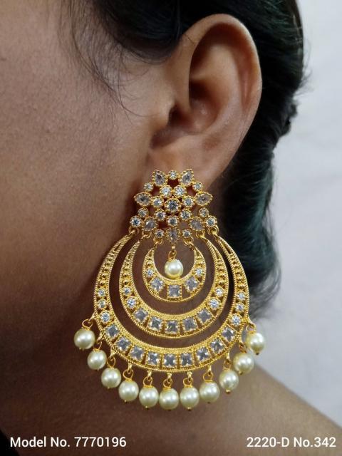 Lab Created Diamond Earrings