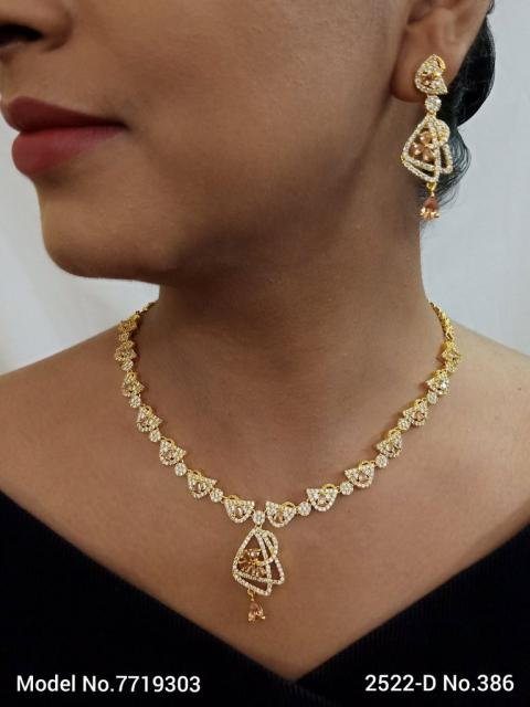 Made in India | Cz Necklace Set