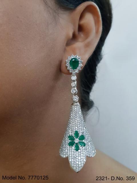Imitation Jewelry | Cz Earrings