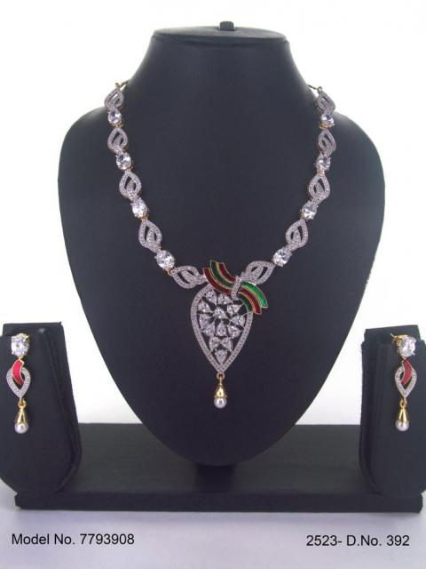 Gift Necklace Set in CZ