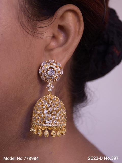 Diamond Replica Earrings