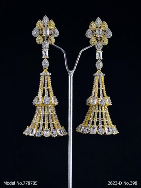 AD Earrings | Wedding Collection