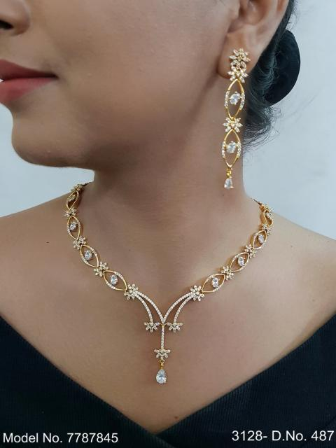 Cz Necklaces| Traditional Trendy Gift Ideas