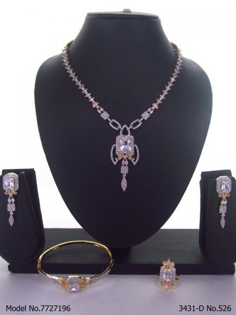 Original Zircon Necklace Set