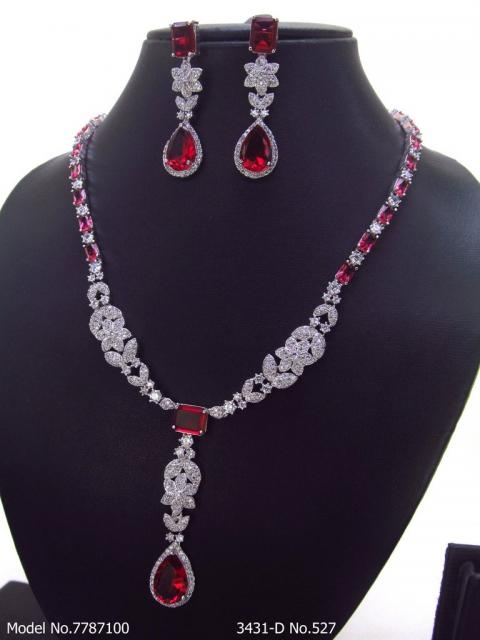 Ideal Necklace Set for Wedding Jewelry Occasions
