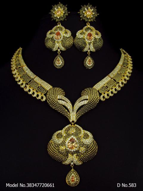 A Masterpiece | Handcrafted Traditional Jewellery Set