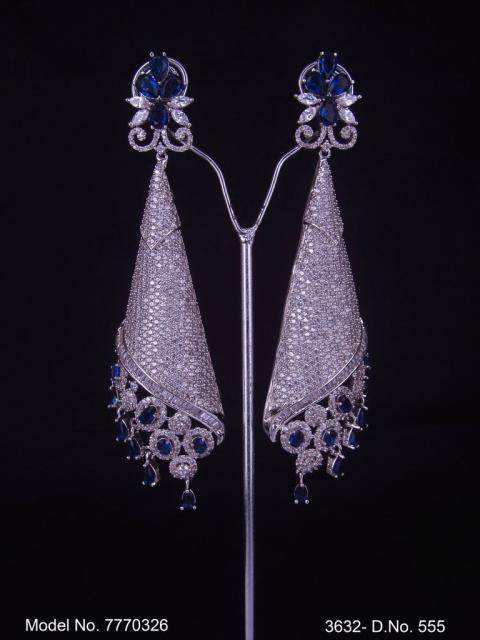 Wholesale Fashion Cz Earrings