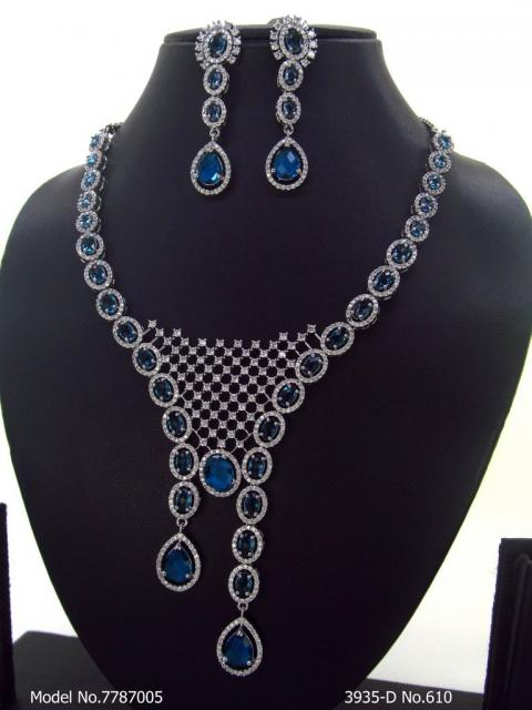CZ Collar Necklace