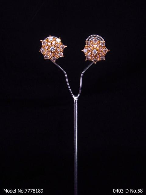 Crystal Zircon studs for Girls | Steal a mans Eye