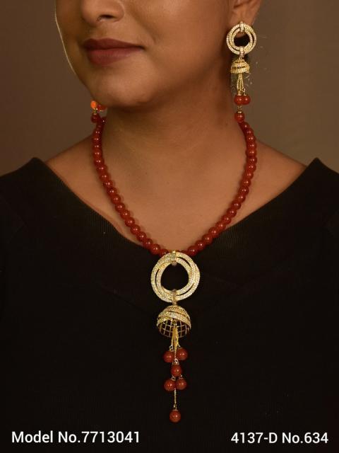 Indian CZ Pendants