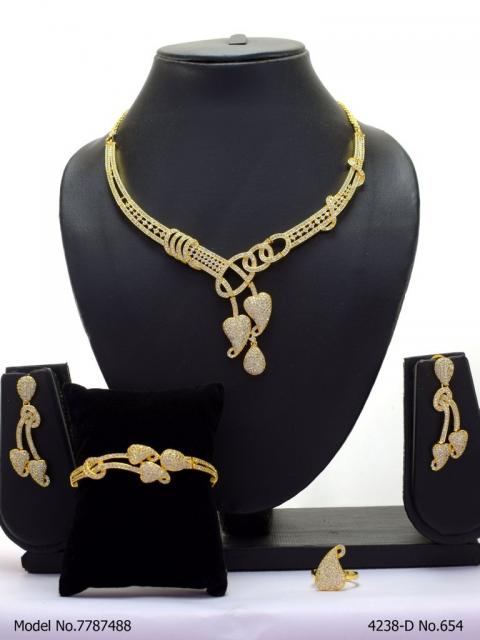 Original Zircon Necklace Set