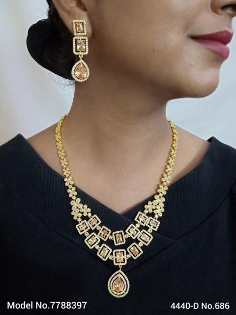 Bridesmaid Necklace Set for Traditional Weddings