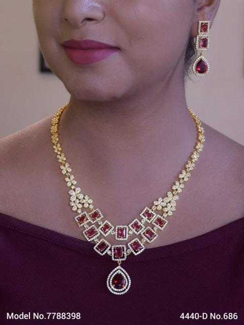 Traditional Cz Jewelry Sets