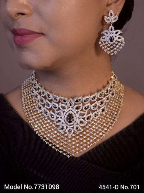 Choker Jewelry Set for Wedding Occasions