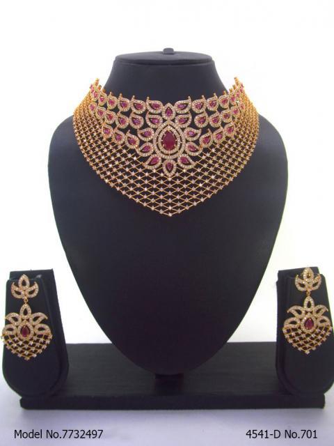 Cz Jewelry Set   Popular in Asia