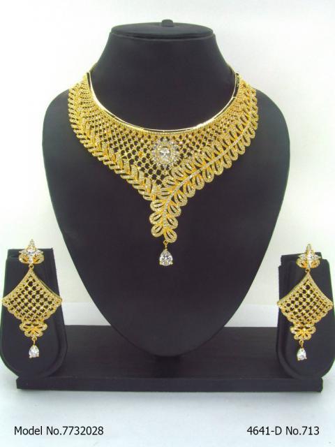 Artificial Diamond Jewelry Set