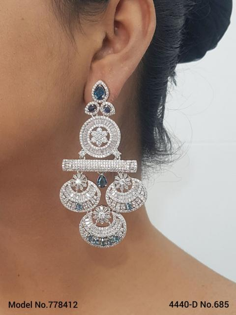 Long CZ Earrings