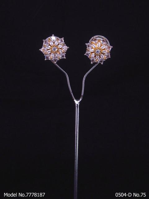 Crystal CZ Studs | Gift for your Wife