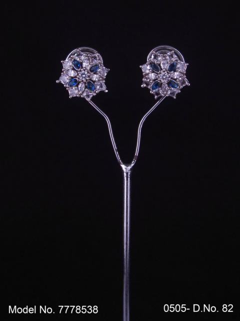 Crystal CZ Studs   Gift for your Wife