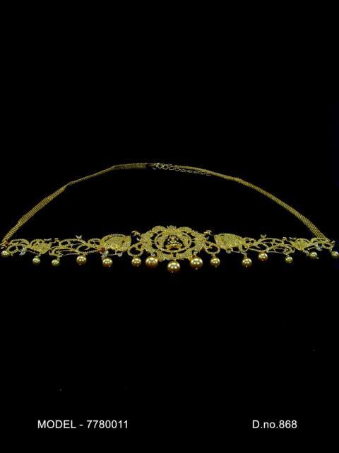 CZ Waist Belt
