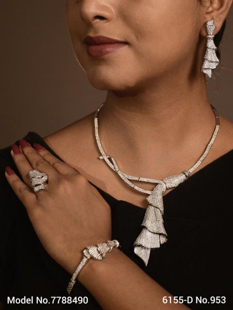 Original Cz Traditional Necklace