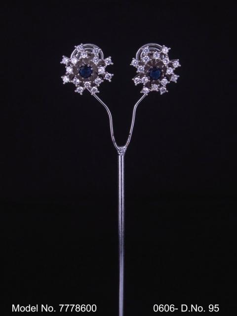 AAA star cut Zircon Earrings