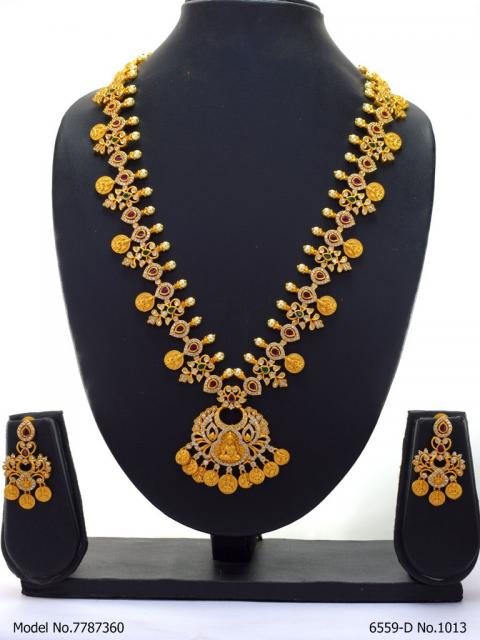 Antique Matt Gold Jewellery Collection