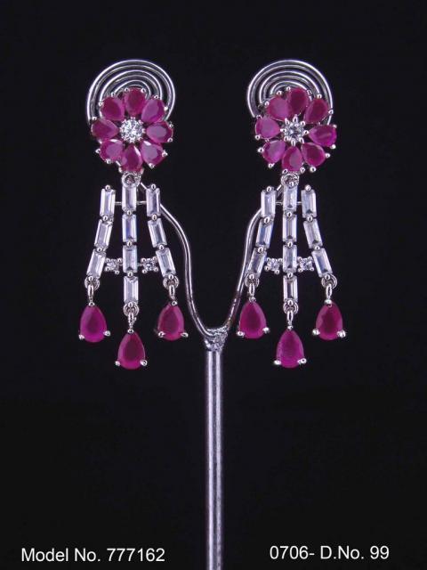 Indian CZ Earrings