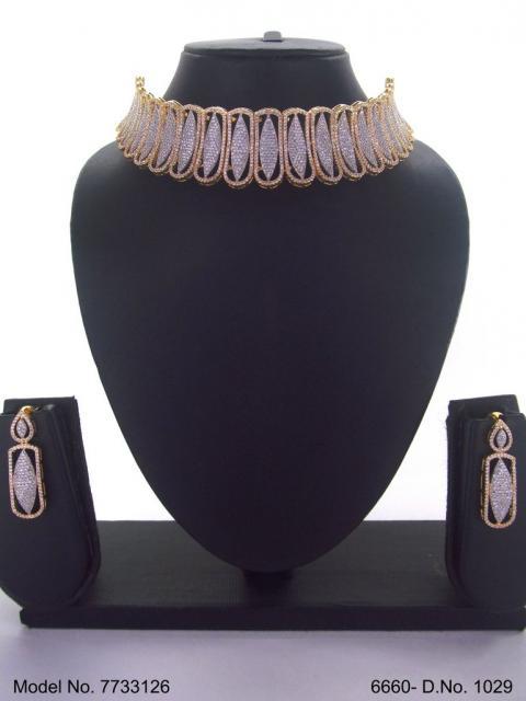 Original Zircon Wedding Jewellery