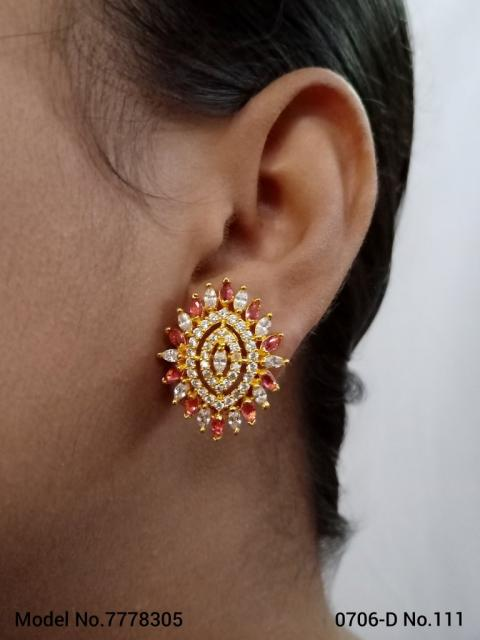 Stylish cz earrings | wholesale prices