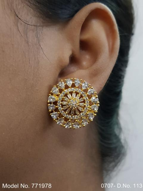 Indian Cz Earring preferred by Bollywood stars