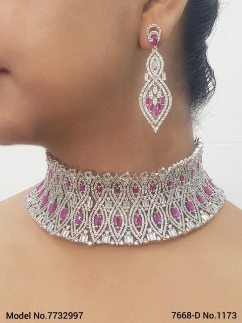Cz Fine Fashion Jewelry Set   Ideal Gift for Women