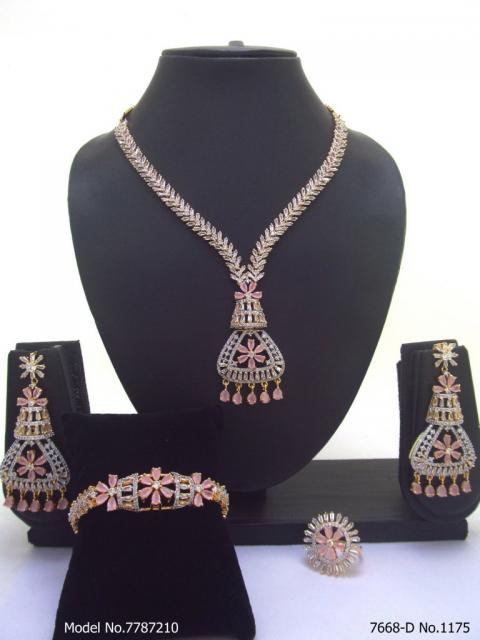 Traditional Cz Jewelry Sets