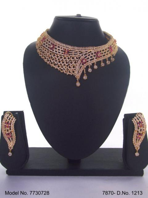 Wholesale Cz Fashion Jewelry Set